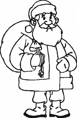 Father Christmas Drawing at GetDrawings.com   Free for personal use ...
