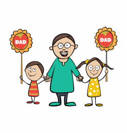 Happy Father's Day Clip Art Images Banners Borders