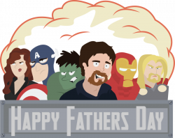Dad and the Avengers by VilePurple on DeviantArt