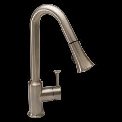 Pekoe 1-Handle Pull Down High-Arc Kitchen Faucet   American Standard