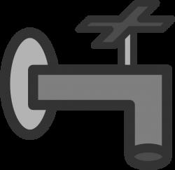 Faucet Clip Art at Clker.com - vector clip art online, royalty free ...