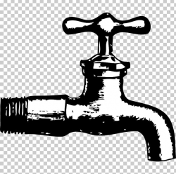 Tap Water Plumbing PNG, Clipart, Bitcoin Faucet, Black And ...