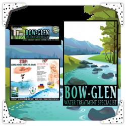 PORTFOLIO — BOW-GLEN Water Treatment Specialist Company Logo,...
