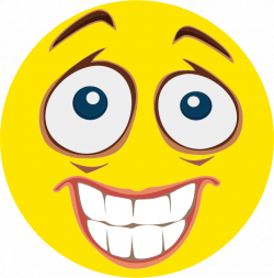 Clipart - Nervous Smiley