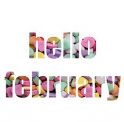 Month of February Valentine's Day. | Month Clip Art | Pinterest ...
