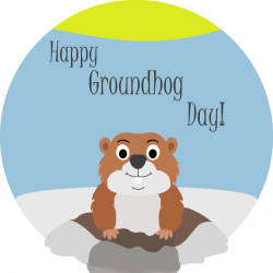 Groundhog Day Clipart Group (75+)