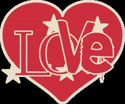 Clipart - Love heart
