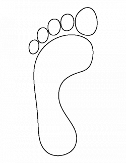 Foot Print Drawing at GetDrawings.com | Free for personal use Foot ...