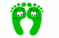 Clip Royalty Free Library Green Happy Feet Clip Art - Kind ...