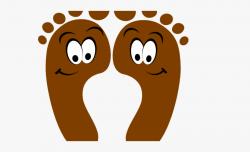 Feet Clipart Happy Foot - Feet Clipart #319326 - Free ...