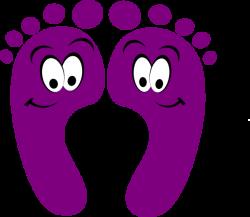 purple clipart | Purple Happy Feet clip art | Clip Art | Pinterest ...