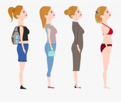Woman Fashion Computer Icons Female - Female Human Body ...