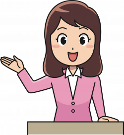 Clipart - Female Instructor (#7)