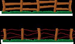 Barn Fence Clipart - Clipart Kid | Farm ideas | Pinterest | Fences ...