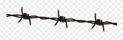 Clip Art Free Barb Wire Clipart Old Fence - Barbed Wire ...