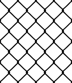 Fence #1 Chain Link Metal Fencing Jail Prison Protection Security Design  Element Logo .SVG .EPS .PNG Clipart Vector Cricut Cut Cutting File