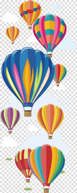 Assorted-color hot air balloons on air , Hot air balloon ...