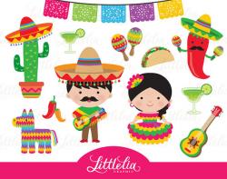 Fiesta clipart Mexican cinco de Mayo clipart 15058