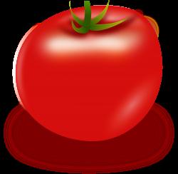 Clipart - Vector Tomato