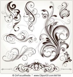 Pin by Lauren Manning on Tattoos | Scroll tattoos, Filigree ...