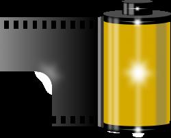 Clipart - film roller