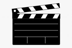 Hollywood Camera Clipart - Film Clapper Clipart #1310272 ...