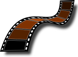 Hollywood Film Cinema Photography Clip art - Film Reel Clipart 1000 ...