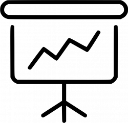 Projector Analysis Statistic Evolution Market Finance Svg Png Icon ...