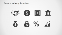 Finance Industry Clipart for PowerPoint