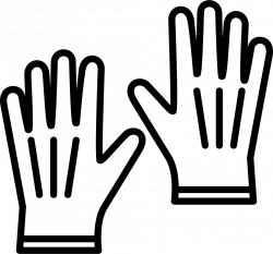 Leather Gloves Svg Png Icon Free Download (#59516) - OnlineWebFonts.COM