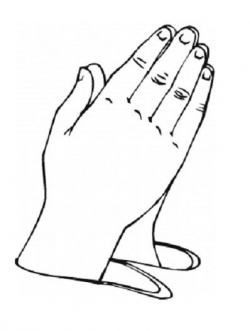 pictures of praying hands for preschool | Coloring Pages of ...
