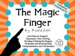 Roald Dahl The Magic Finger Worksheets & Teaching Resources ...