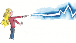 Roald Dahl's The Magic Finger, illustrated by Quentin Blake ...