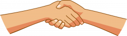 Clipart - Shaking hands