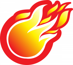 Flame fire clipart 6 image #6980 | ruby logo inspiration | Pinterest ...