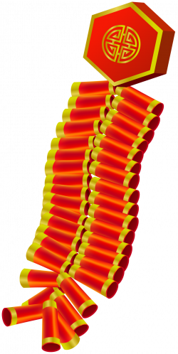 Chinese Firecrackers PNG Clip Art