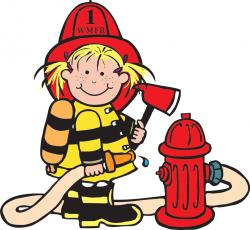 Girl Firefighter Cartoon Clipart Panda Free Clipart Images ...
