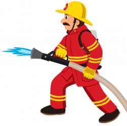 6.png | Firemen, Clip art and Fire prevention