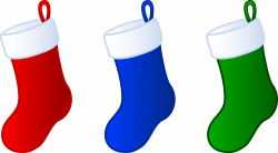 Christmas stocking england clipart