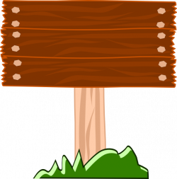 Wood Street Sign Clip Art at Clker.com - vector clip art online ...