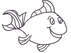 Fish Color Sheet Printable | Activity Shelter | Coloring Pages for ...