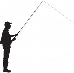 Fly Fisherman Silhouette at GetDrawings.com | Free for personal use ...