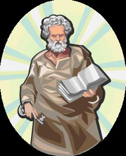 St. Peter, Disciple of Jesus - Vector Image