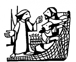 Jesus' Disciples Catch Lots of Fish