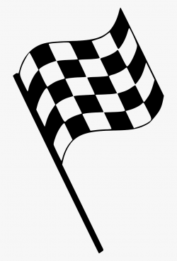 Checkered Flag Png - Finish Line Flag Clipart , Transparent ...