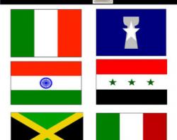 Flag clip art | Etsy