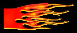 Clipart - Hot Rod Flames 2