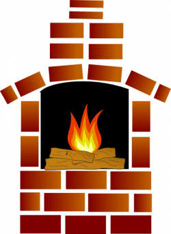Brick Oven With Firewood And Flames Clip Art at Clker.com ...