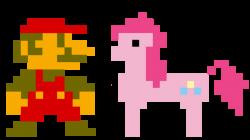 82170 - adventure ponies, artist:kuren247, crossover, mario ...
