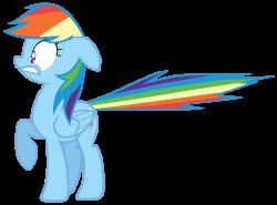 Scared rainbow dash by Tardifice on DeviantArt